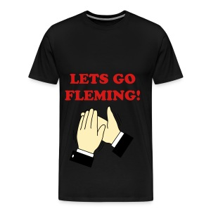 Lets go fleming clap - Men's Premium T-Shirt