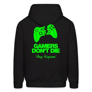 Gamers Dont Die, They Respawn - Men's Hoodie