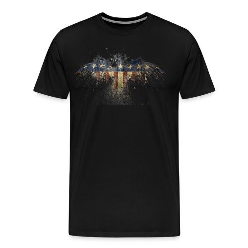 Premium Eagle Men's Tee - Men's Premium T-Shirt