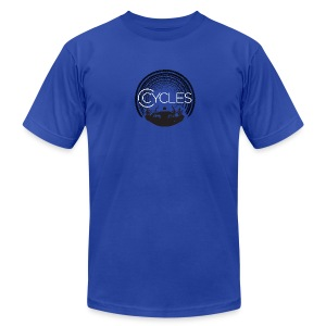 Cycles - Men's T-Shirt by American Apparel