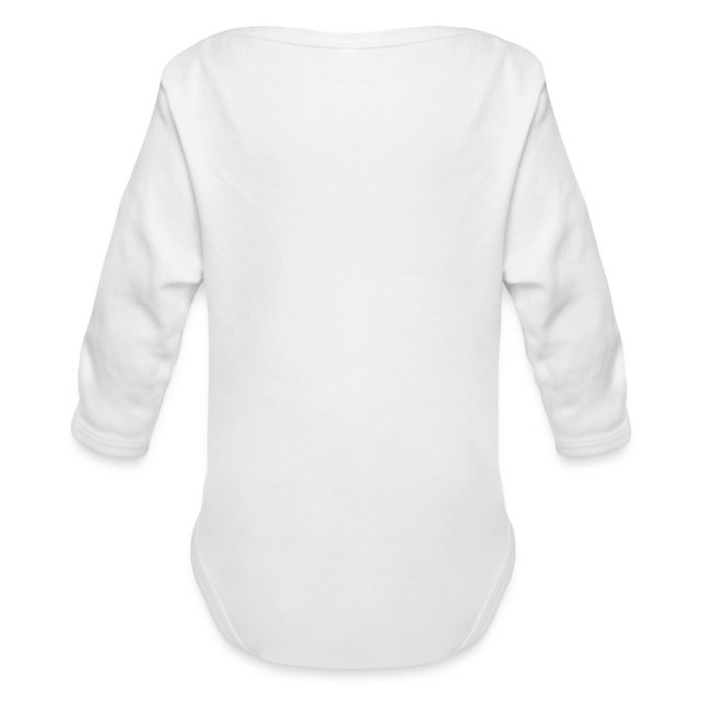 Baby White One Piece Long Sleeve