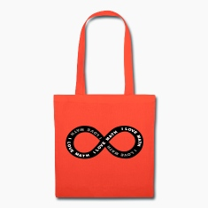 Math Infinite Love Bags & backpacks