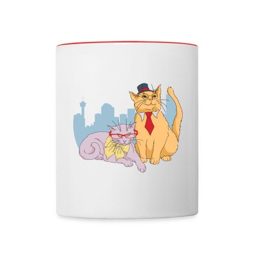 Calgary Cats Mug - Contrast Coffee Mug