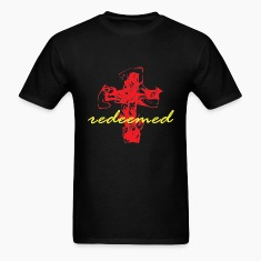 Redeemed - Red/Yellow T-Shirts