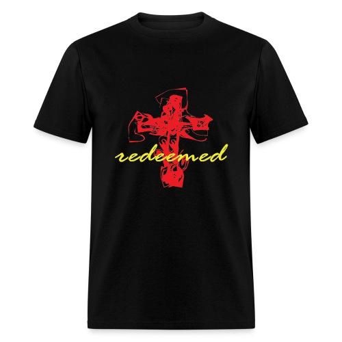 Redeemed black/red/yellow - Men's T-Shirt