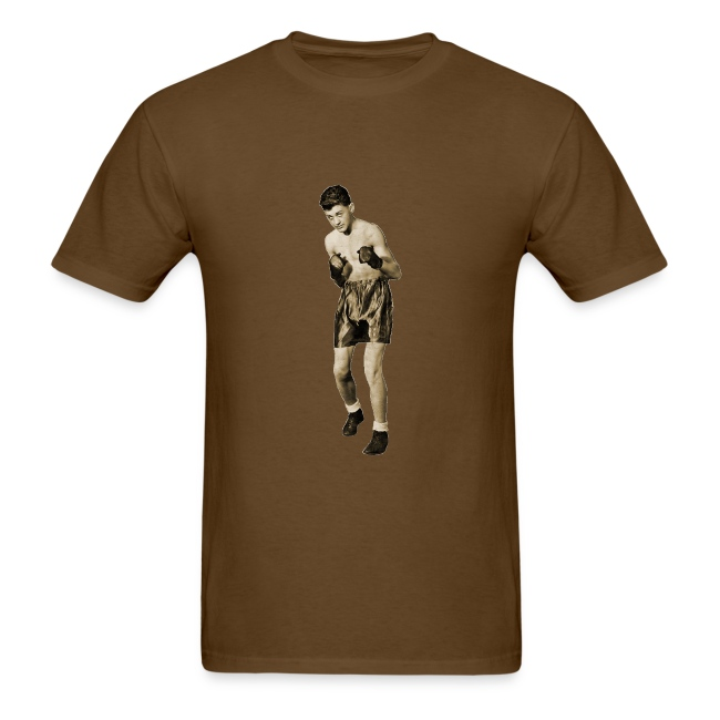 Vintage Boxer in Boxing Pose | Men's T-Shirt