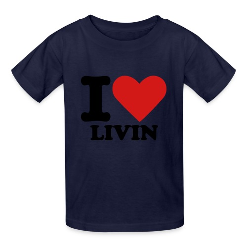 TOURIST STYLE I LOVE LIVIN - Kids' T-Shirt