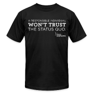 T-Shirts ~ Men's T-Shirt by American Apparel ~ Balanced Bites Status Quo T-Shirt