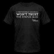 T-Shirts ~ Men's T-Shirt by American Apparel ~ Balanced Bites Status Quo T-Shirt
