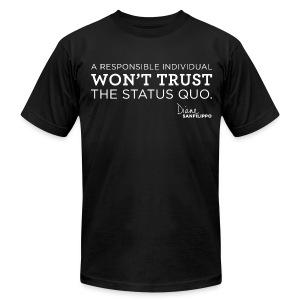 Balanced Bites Status Quo T-Shirt - Men's Fine Jersey T-Shirt