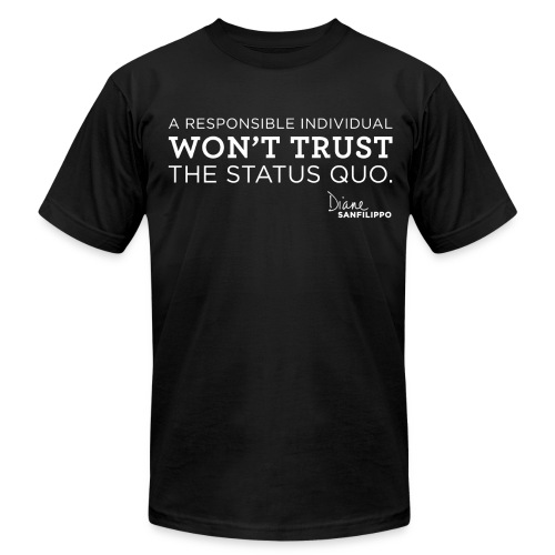Balanced Bites Status Quo T-Shirt - Men's T-Shirt by American Apparel