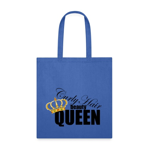 Curly Hair Beaute  Queen Tote bag - Tote Bag