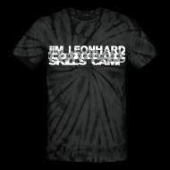 T-Shirts ~ Unisex Tie Dye T-Shirt ~ 2014 Jim Leonhard Football Skills Camp
