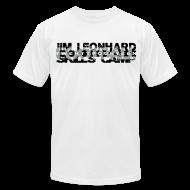 T-Shirts ~ Men's T-Shirt by American Apparel ~ 2014 Jim Leonhard Football Skills Camp