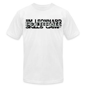 2014 Jim Leonhard Football Skills Camp - Men's Fine Jersey T-Shirt