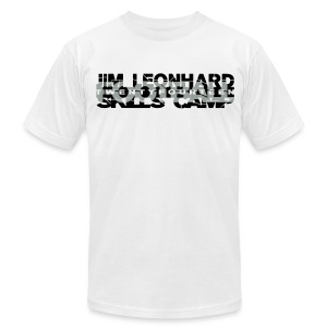 2014 Jim Leonhard Football Skills Camp - Men's Fine Jersey T-Shirt