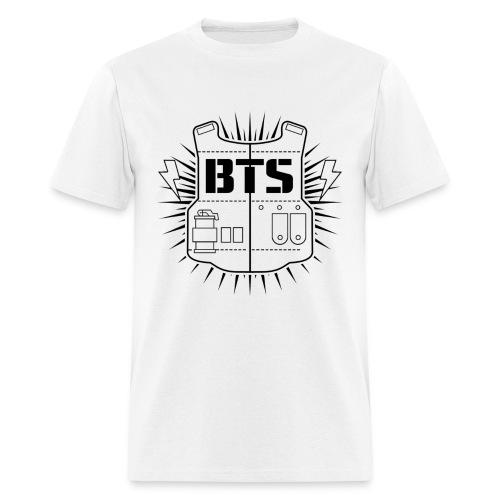 BTS (White) - Men's T-Shirt