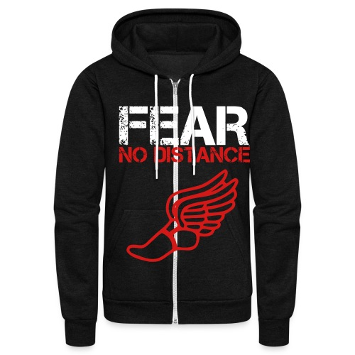 Fear - Unisex Fleece Zip Hoodie