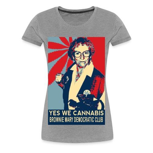 Women's Plus Size Brownie Mary T-Shirt - Women's Premium T-Shirt