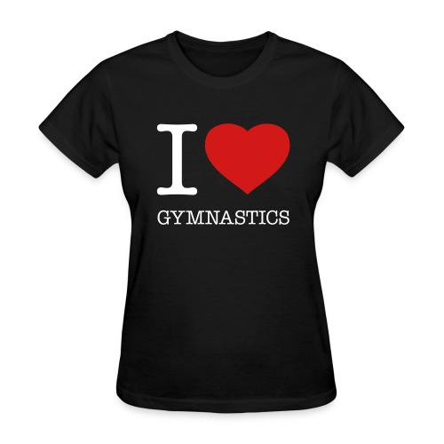I love gymnastics t-shirt - Women's T-Shirt