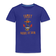 Baby & Toddler Shirts ~ Toddler Premium T-Shirt ~ Family Anchors the Sailor-Kids