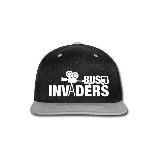 Bus Invaders Snapback Hat - Snap-back Baseball Cap