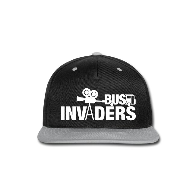 Bus Invaders Snapback Hat  6221764b7cc