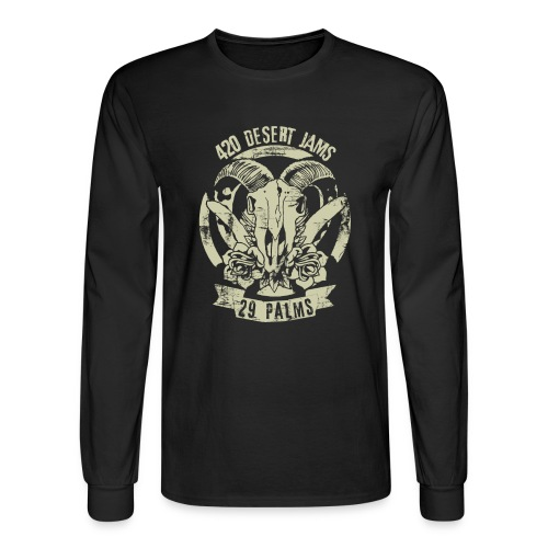 420 Jams - Long Sleeve Black - Men's Long Sleeve T-Shirt