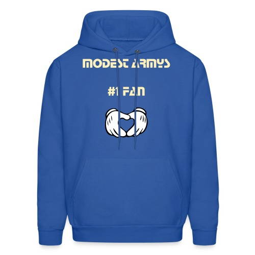 Modest Armys Number one fan - Men's Hoodie