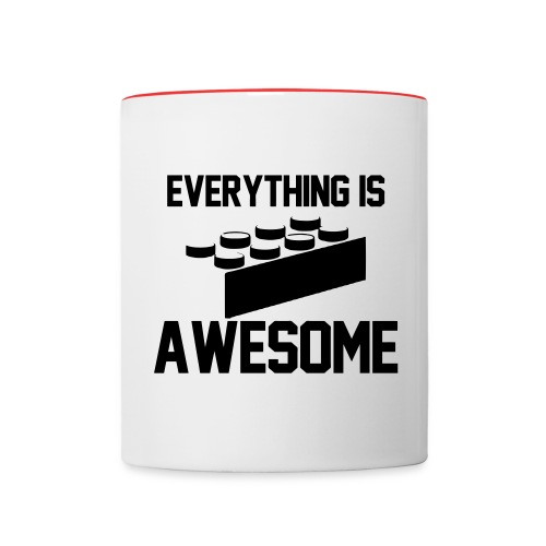 awesome mug - Contrast Coffee Mug