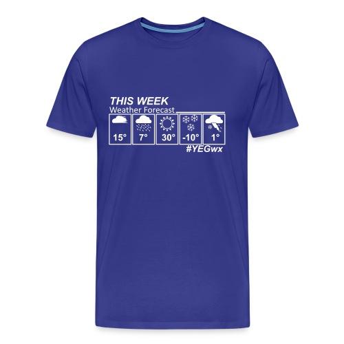 Classic Canadian Forecast - Men's Premium T-Shirt