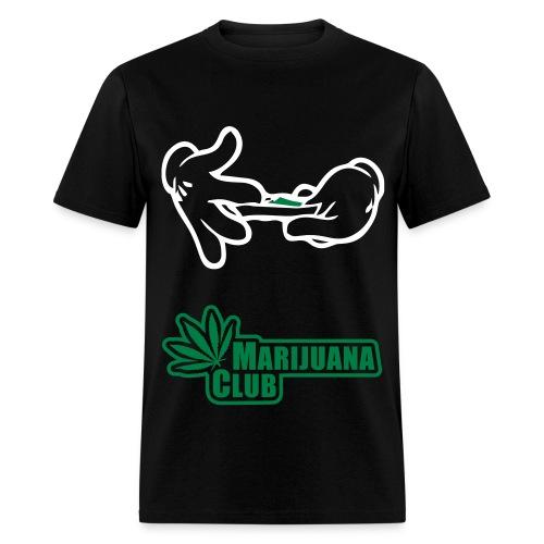 Marijuana Club  - Men's T-Shirt