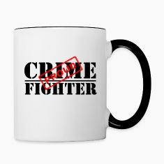 Proud Crime Fighter Bottles & Mugs