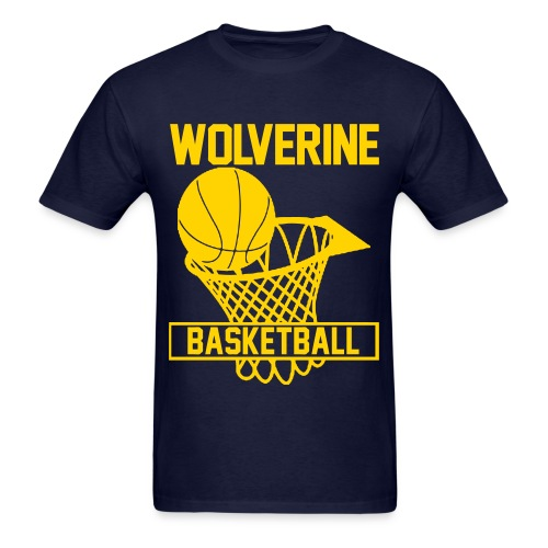 Wolverine Basketball tee - Men's T-Shirt