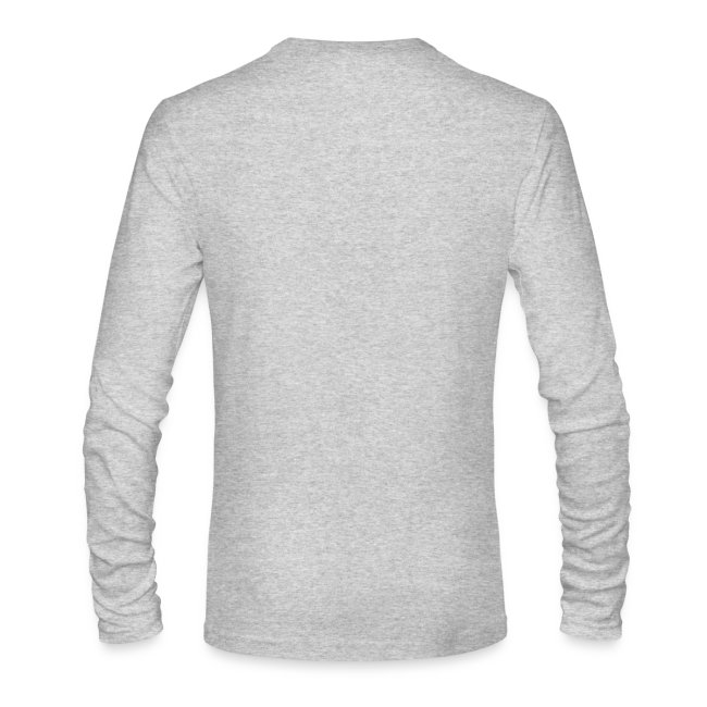 Men's Grey Long Sleeve T-Shirt
