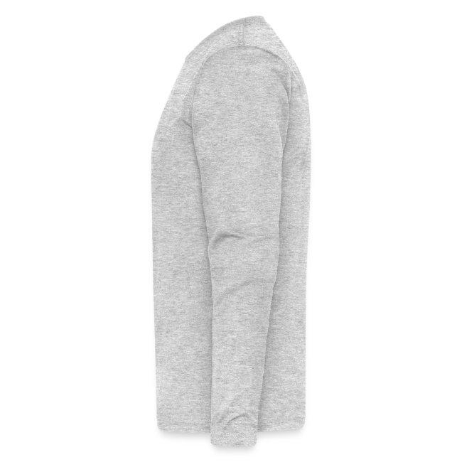 Men's Grey Long Sleeve T-Shirt