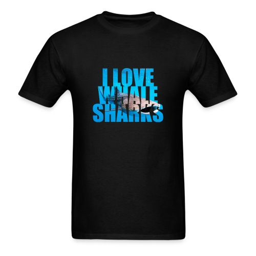 I Love Whale Sharks T-Shirt- - Men's T-Shirt