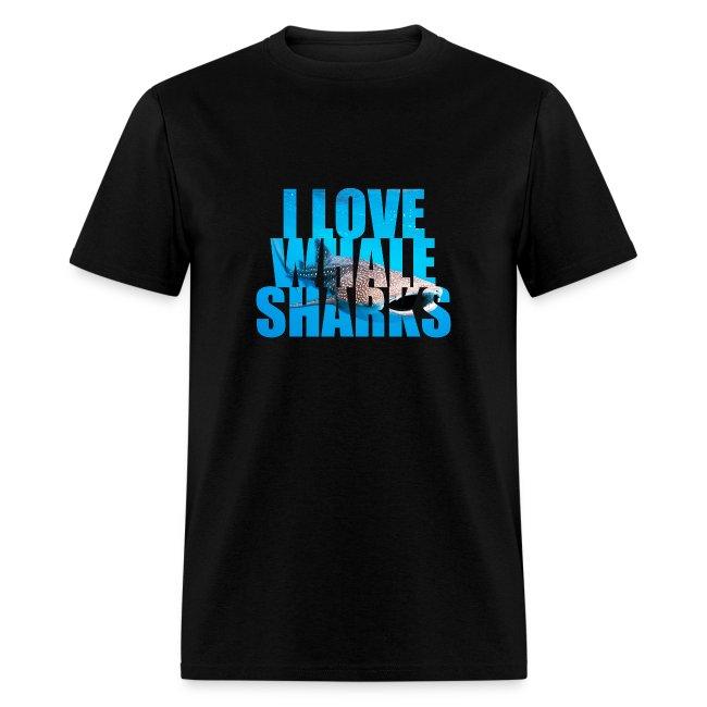 I Love Whale Sharks T-Shirt-