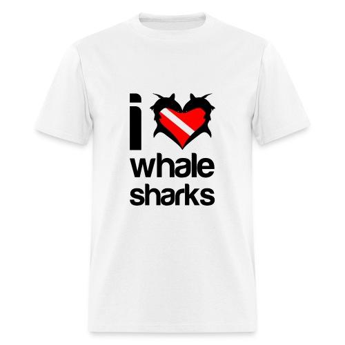 I Love Whale Sharks T-Shirt- - Men's T-Shirt