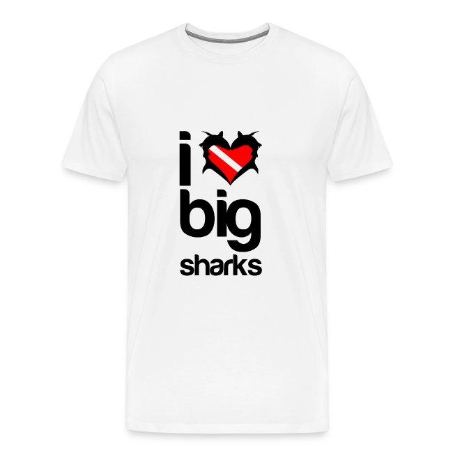 I Love Big Sharks T-Shirt