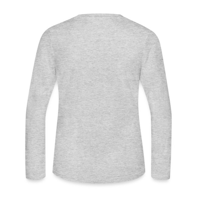 Women's Grey Long Sleeve T-Shirt