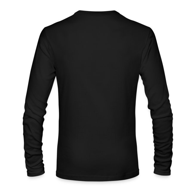 Men's Black Long Sleeve T-Shirt