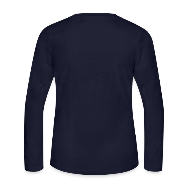 Women's Navy Blue Long Sleeve T-Shirt