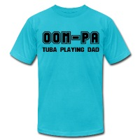 Oom-Pa - Men's T-Shirt by American Apparel
