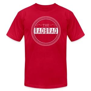 Men's TheRadBrad Logo - Men's Fine Jersey T-Shirt