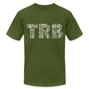 Men's TRB unCensored T-Shirt - Men's T-Shirt by American Apparel