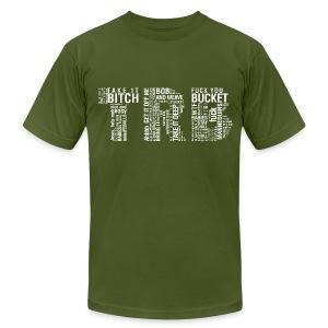 Men's TRB unCensored T-Shirt - Men's Fine Jersey T-Shirt