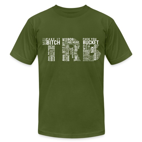 Men's TRB unCensored T-Shirt - Men's Fine Jersey T-Shirt