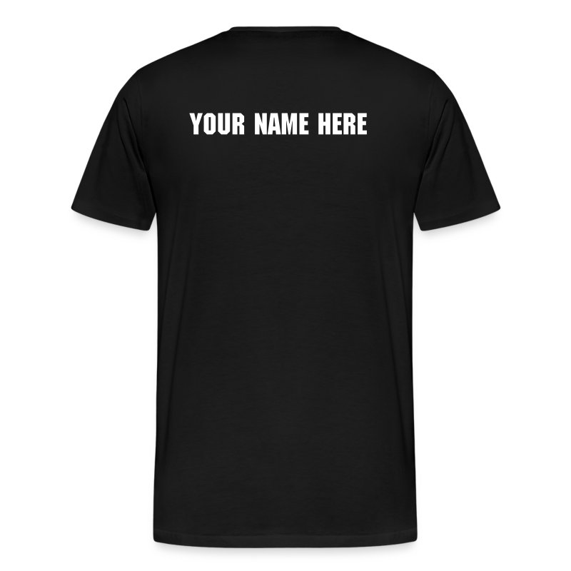 Customized COMPETE T-Shirt - Men's Premium T-Shirt