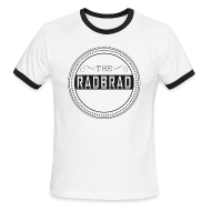 T-Shirts ~ Men's Ringer T-Shirt ~ Men's TheRadBrad Logo Ringer